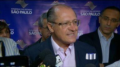 Governador visita a região - Alckmin anuncia obras em bairros de São José dos Campos.