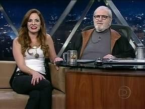 Jô Soares entrevista Ana Lyz - Revelada na plateia do programa, a cantora falou sobre sua carreira