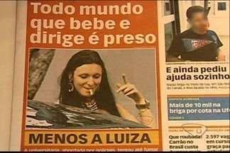 Confira repercussão de caso de estudante de Direito que tentou fumar dinheiro, no ES - Caso virou notícia em diversas partes do Brasil.