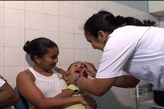 Campanha Nacional de Vacinação começou neste sábado (18) - A campanha cobre todas as vacinas do calendário básico de imunização das crianças. Em São Luís, ela é realizada em 68 postos.