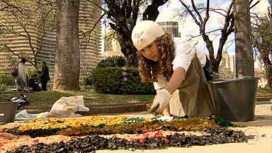 Dia do Patrimônio é comemorado na Praça da Liberdade - Atividades foram realizadas para celebrar data.