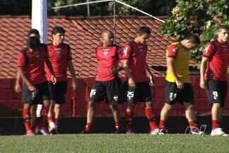 Com time ofensivo, Dragão encara o Palmeiras - Time volta a ter esquema com Wesley, Patric e Ricardo Bueno no ataque. jogo será domingo, ás 18h30m, no Serra Dourada.