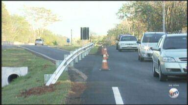 Trecho para entrar em avenida de Ribeirão é fechado - Quem usa a alça de acesso em frente à USP para acessar a Avenida Bandeirantes precisará alterar rota.