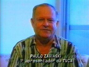 Morreu neste fim de semana Paulo Zaviasky, um dos pioneiros da comunicação de Mato Grosso - Paulo também trabalhou como assessor de imprensa em vários órgãos públicos como o Tribunal de Justiça. Ele foi enterrado na tarde deste domingo no Cemitério da Piedade em Cuiabá.