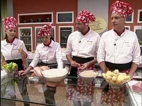 Prova da Imunidade desafia famosos a cozinharem pratos em 40 minutos - Participantes preparam receitas com proteína e ingrediente principal