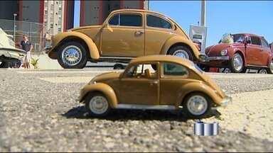 Parque da Cidade, em Jacareí, reúne apaixonados por Fusca - Parque da Cidade, em Jacareí, reúne apaixonados por FuscaExposição de vários modelos do VW Fusca atraiu colecionadores de todo o estado.