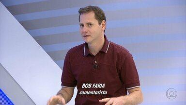 Bob Faria comenta a derrota do Cruzeiro - Depois da goleada sofrida para o Coritiba, comentarista diz que time celeste precisa de tranquilidade para encarar o Atlético-MG e voltar a jogar bem.
