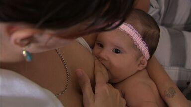 650 mães participam de 'mamaço' coletivo em Fortaleza neste domingo - Projeto Mil Mães fala às mães sobre a importância do amamentação.