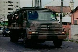 Eleições municipais de Campina Grande devem ser acompanhadas por tropas federais - Decisão foi tomada pelo Tribunal Regional da Paraíba.