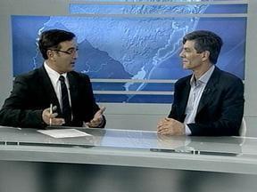 Candidato à prefeitura de Pelotas Fernando Marroni concede entrevista ao RBS Notícias - Em série, todos os candidatos à prefeitura de Pelotas concederão entrevista ao programa.