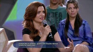 Mayana Neiva dá opinião sobre herança familiar - Atriz defende a família e acha que ela tem que ser respeitada acima de tudo