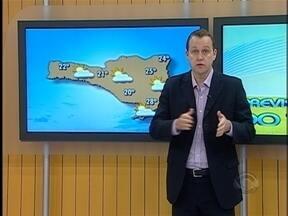 Confira a previsão do tempo para esta sexta-feira - As informações são do meteorologista Leandro Puchalski.