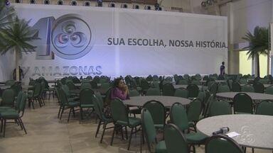 Uma grande festa está sendo preparada para comemorar os 40 anos da TV Amazonas - Os 40 anos da TV Amazonas vai reunir cerca de 700 convidados.