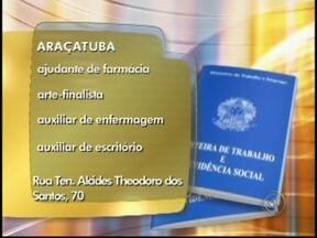 Veja as vagas de trabalho anunciadas no Bom Dia Cidade de Rio Preto, SP - As vagas são desta terça-feira (11) para toda a região de São José do Rio Preto (SP). Oportunidade para quem quer trabalhar como desenhista ou como vendedor. Confira para onde os currículos devem ser enviados.