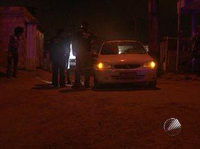 Taxista é assassinado a tiros na noite de segunda-feira em Salvador - O crime aconteceu na Rua das Flores. Os bandidos fugiram.