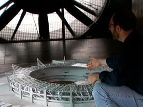 Cobertura do Morumbi é testada em maquete antes de construção - Instituto de Pesquisas Tecnológicas comandou experimentos em túnel de vento
