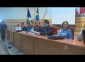 Audiência debate medidas compensatórias sobre a destruição do Marco divisório AM-MT - Uma audiência pública reuniu representantes da sociedade civil e historiadores para debater medidas compensatórias à destruição do Marco Divisório Amazonas - Mato Grosso.