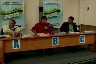 Rede Paraíba SAT de rádio promove debate eleitoral com candidatos a prefeito de Cajazeiras - Cidade parou para ouvir debate entre prefeitáveis.