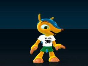 Ronaldo convoca votação para escolher nome do novo mascote da Copa - Os internautas poderão escolher um nome para novo mascote da Copa de 2014. Os nomes são Amijubi, Fuleco ou Zuzeco.