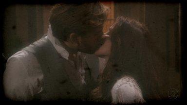 Lado a Lado, capítulo de sábado, dia 22/09/2012, na íntegra - Edgar beija Laura.