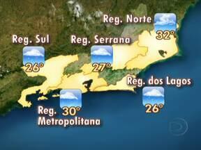 Confira a previsão do tempo em todo o estado - A aproximação de uma frente fria deixa o tempo instável na maior parte do estado. Na Região metropolitana pode chover à tarde. A partir da noite, as chuvas podem ser acompanhadas de rajadas de vento e trovoadas.