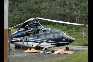 Aeronáutica investiga acidente com helicóptero no aeroporto de Belém - Segundo a empresa responsável pela aeronave, o piloto era experiente.