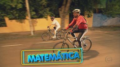 Professor usa bicicletas para ensinar cálculo de circunferências - Marcello Menezes diz como a matemática pode ajudar os profissionais de educação física.