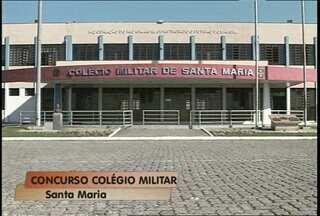 Abertas as inscrições para vagas no Colégio Militar em Santa Maria - Candidatos precisam efetuar a inscrição