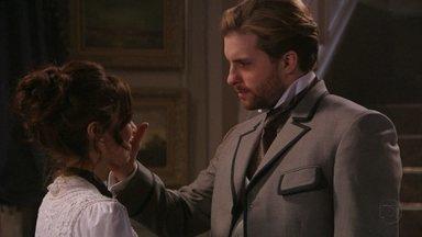 Lado a Lado, capítulo de terça-feira, dia 25/09/2012, na íntegra - Edgar e Laura se declaram um para o outro