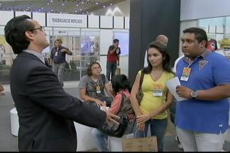 Feira mostra como ser bem sucedido investindo na sua própria empresa - De cada dez empresas, três fecham as portas nos primeiros dois anos. Uma feira em Fortaleza traz opções de negócios que podem ser criados com quinze mil reais.
