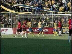 Esporte: Deu Xavante no clássico Bra-Pel - Apenas um gol definiu a partida.