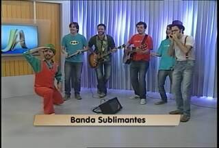 Banda Sublimantes se apresenta ao vivo no JA - Grupo de apresenta hoje em Santa Maria