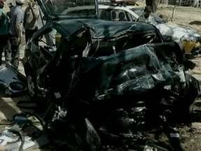 Dez pessoas morrem em acidente no Norte de Minas Gerais - Acidente foi na MG-122.