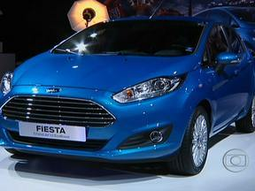 Brasil é destaque no Salão de Paris - Muitas estreias europeias, como o Ford New Fiesta e o Peugeot 2008, miram o mercado brasileiro. Tem até carro desenvolvido no país chamando atenção no maior evento de automóveis do mundo.