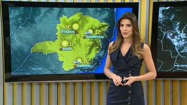 Fim de semana vai ser de sol em Belo Horizonte - Não há previsão de chuva.