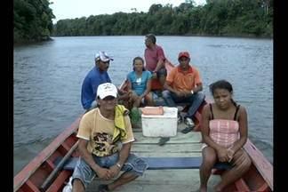 No nordeste do Pará, eleição foi tranquila - Alguns eleitores enfrentaram 3 horas de barco até o local de votação.