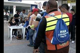 Em Marabá, mototaxistas foram contratados para fazer transporte das cédulas - Medida agilizou o resultado das eleições.