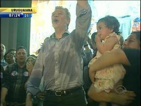 Prefeito José Fortunati festeja a vitória nas eleições de Porto Alegre - Prefeito prometeu salto de qualidade na gestão da capital gaúcha.