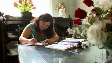 Walnelly buscou no serviço público a estabilidade para a família - Ela começou a estudar para mudar de vida depois que perdeu o marido e a irmã