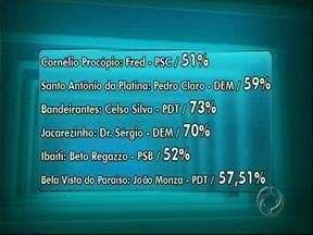 Cidades da região de Londrina já têm prefeitos eleitos - Confira os números em várias cidades da região.