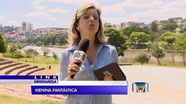Caminhão do 'Menina Fantástica' passa por Bragança Paulista (SP) - Seletiva do concurso do Fantástico está na cidade da região.