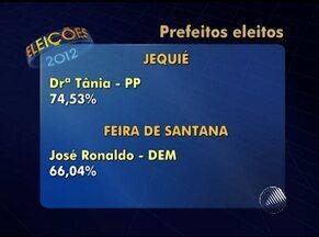 Veja o resultado das eleições para prefeito na principais cidades do interior da BA - Vitória da Conquista, no sudoeste do estado, é a única cidade além da capital a ter segundo turno.