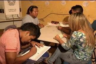 Indígenas da reserva Canabrava exercem a cidadania em Jenipapo das Vieiras - Índios votaram com tranquilodade neste domingo (7).