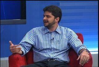 Prefeito eleito de Brejo Santo concede entrevista ao CETV - Guilherme fala dos projetos de governo para 2013.