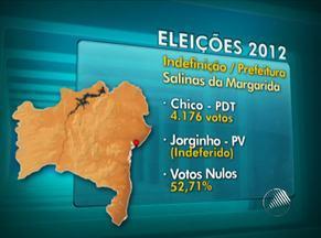 Eleição para prefeito está indefinida em seis municípios baianos - Candidatos a prefeito de seis cidades no estado tiveram candidatura indeferida.