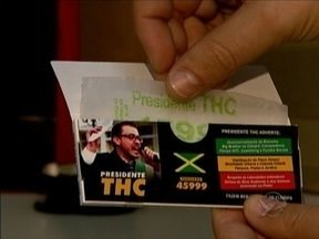 Candidato a vereador de Florianópolis que defende legalização da maconha depôs a polícia - Candidato a vereador de Florianópolis que defende legalização da maconha depôs a polícia