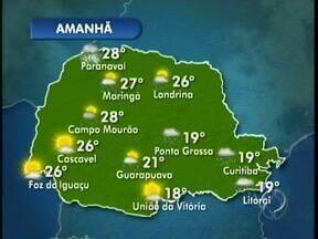Feriado prolongado deve ser de tempo instável na região de Campo Mourão - As temperaturas podem cair um pouco mais