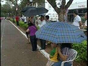 A chuva não atrapalhou as comemorações do aniversário de Campo Mourão - Hoje teve desfile no centro da cidade