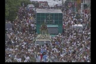 Círio acontece em outros estados do Brasil - Nossa Senhora de Nazaré tem homenagens em Santos (SP) e Manaus (AM).