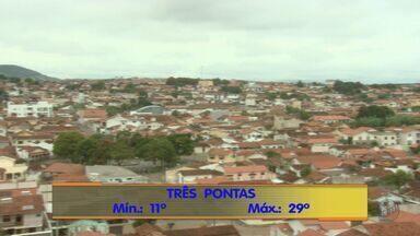 Confira a previsão do tempo para esta segunda-feira (15) no Sul de Minas - Confira a previsão do tempo para esta segunda-feira (15) no Sul de Minas